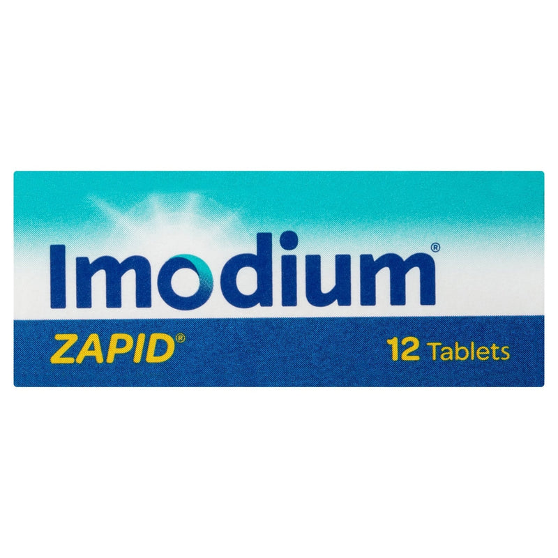 Imodium Zapid 2mg 12 Tablets - Vital Pharmacy Supplies
