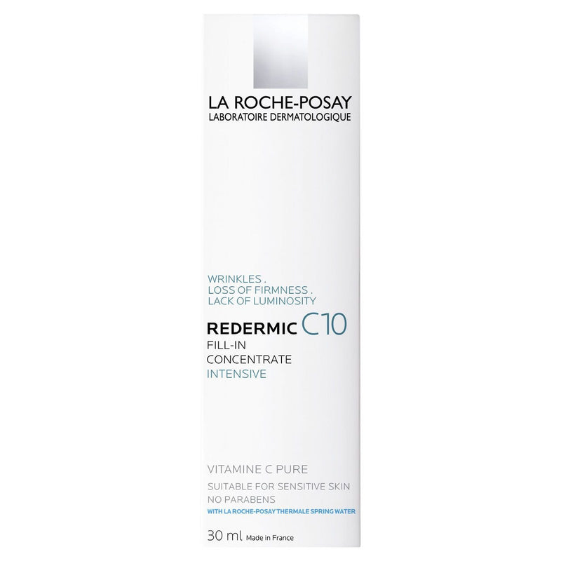 La Roche-Posay Redermic Vitamin C10 Anti-Ageing Moisturiser 30mL - Vital Pharmacy Supplies