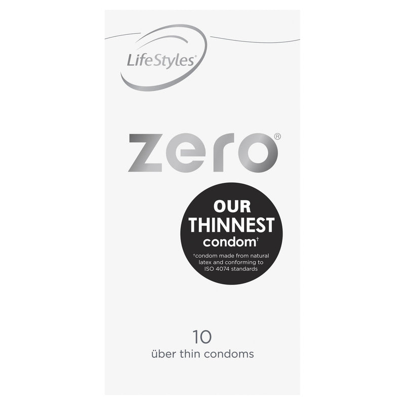 LifeStyles Zero Condoms 10 Pack - Vital Pharmacy Supplies