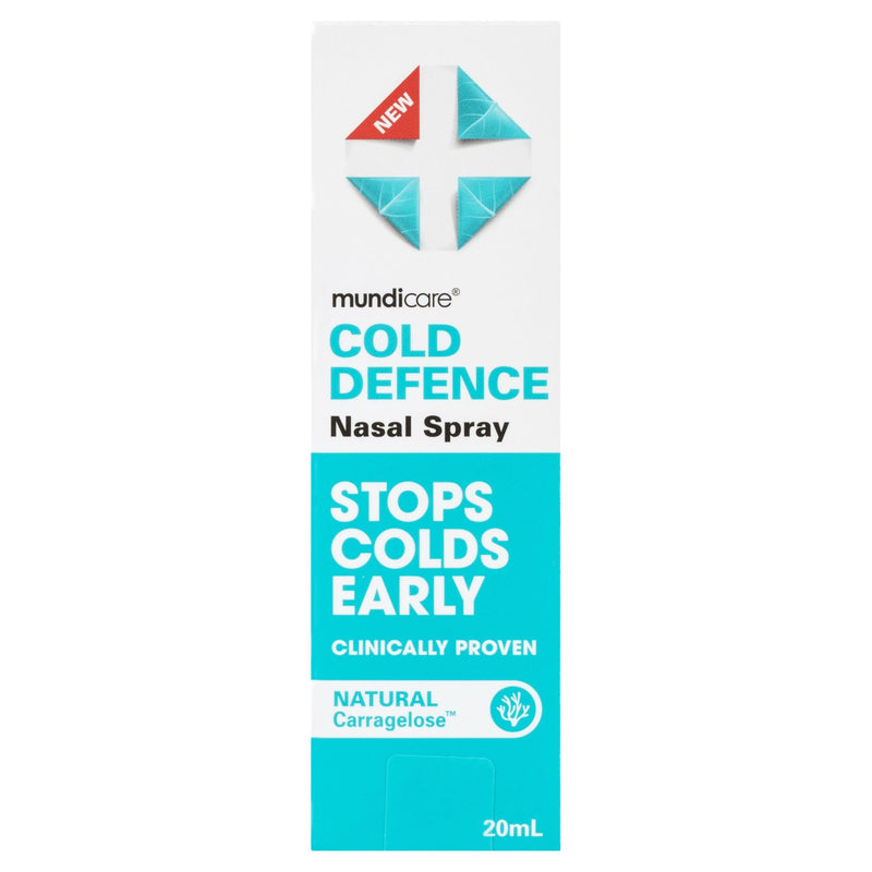 Mundicare Cold Defence Nasal Spray 20mL - Vital Pharmacy Supplies