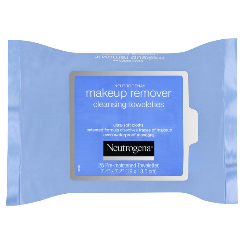 Neutrogena Makeup Remover Cleansing Towelettes Refill 25 Pack - Vital Pharmacy Supplies