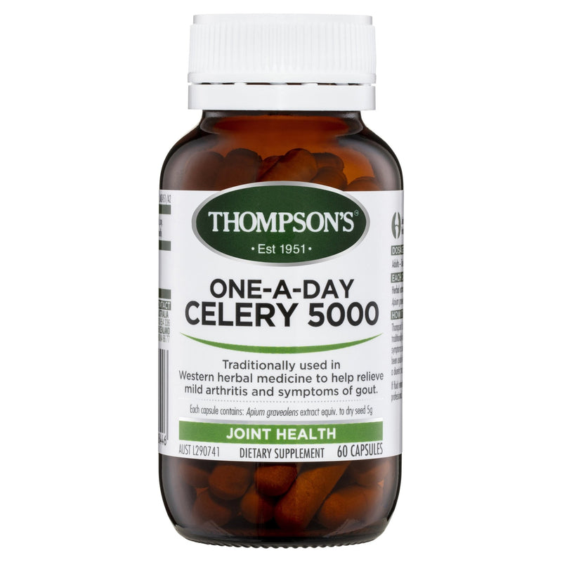 Thompson's One-A-Day Celery 5000MG 60 Capsules - Vital Pharmacy Supplies