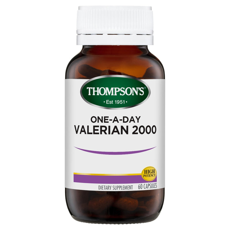 Thompson's One-A-Day Valerian 2000MG 60 Capsules - Vital Pharmacy Supplies