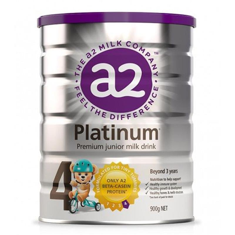 A2 Platinum Premium Step 4 Junior Milk Drink 900g - Vital Pharmacy Supplies