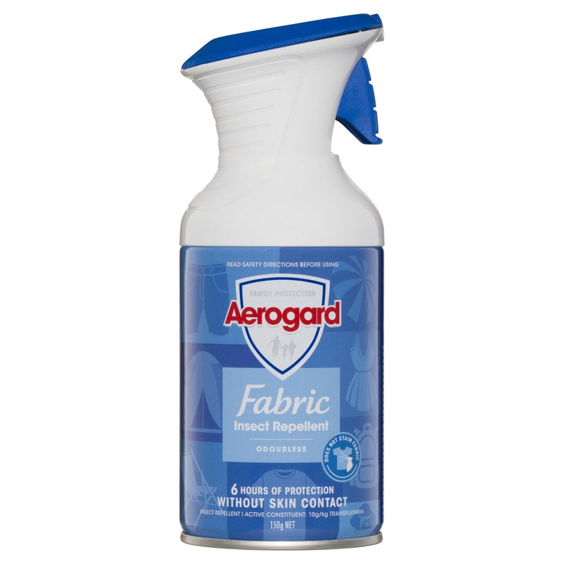 Aerogard Fabric Insect Repellent Fabric Spray Odourless 150g - Vital Pharmacy Supplies