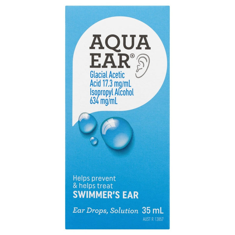 Aquaear Ear Drops Solution 35mL - Vital Pharmacy Supplies
