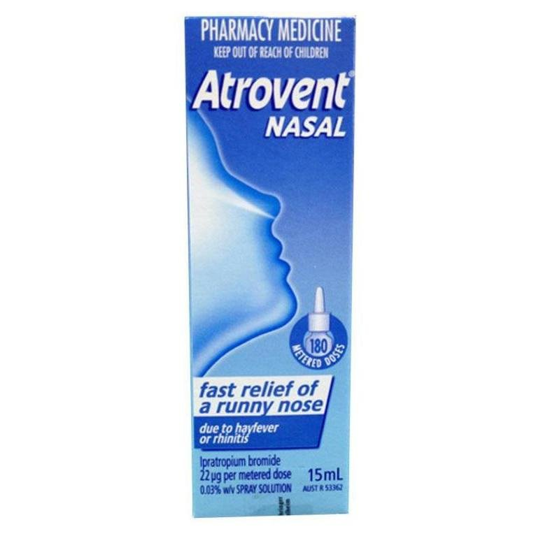 Atrovent Aqueous Nasal Spray 22mcg 15mL - Vital Pharmacy Supplies