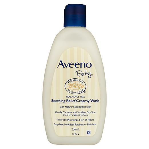 Aveeno Baby Soothing Relief Creamy Body Wash 236mL - Vital Pharmacy Supplies