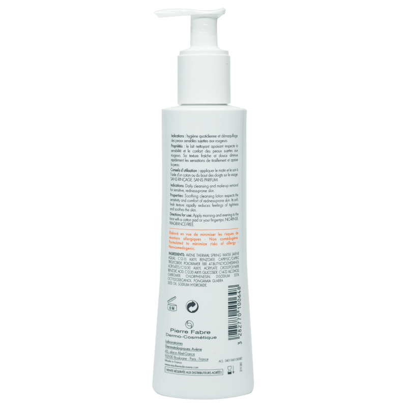 Avene Antirougeurs Clean Soothing Cleansing Lotion 200mL - Vital Pharmacy Supplies