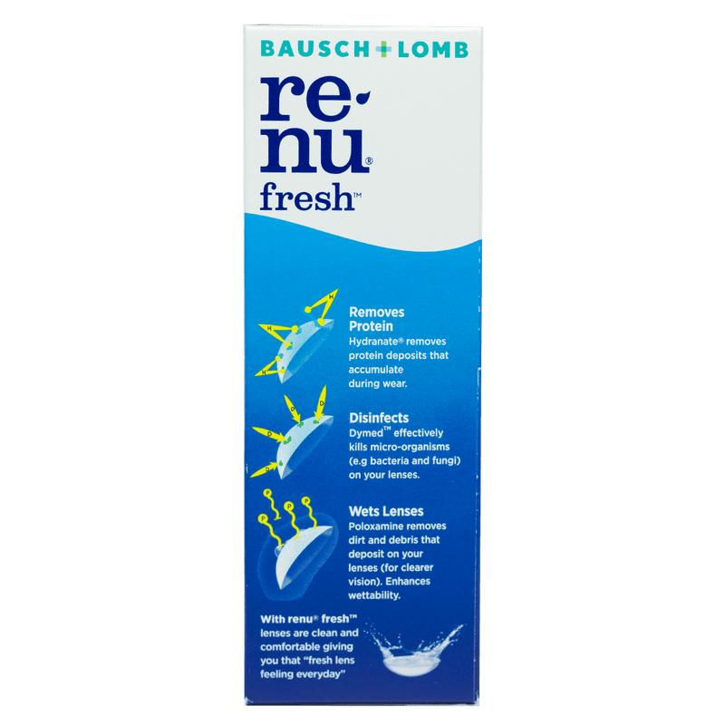 Bausch + Lomb Renu Fresh Multi-Purpose Solution 120mL - Vital Pharmacy Supplies