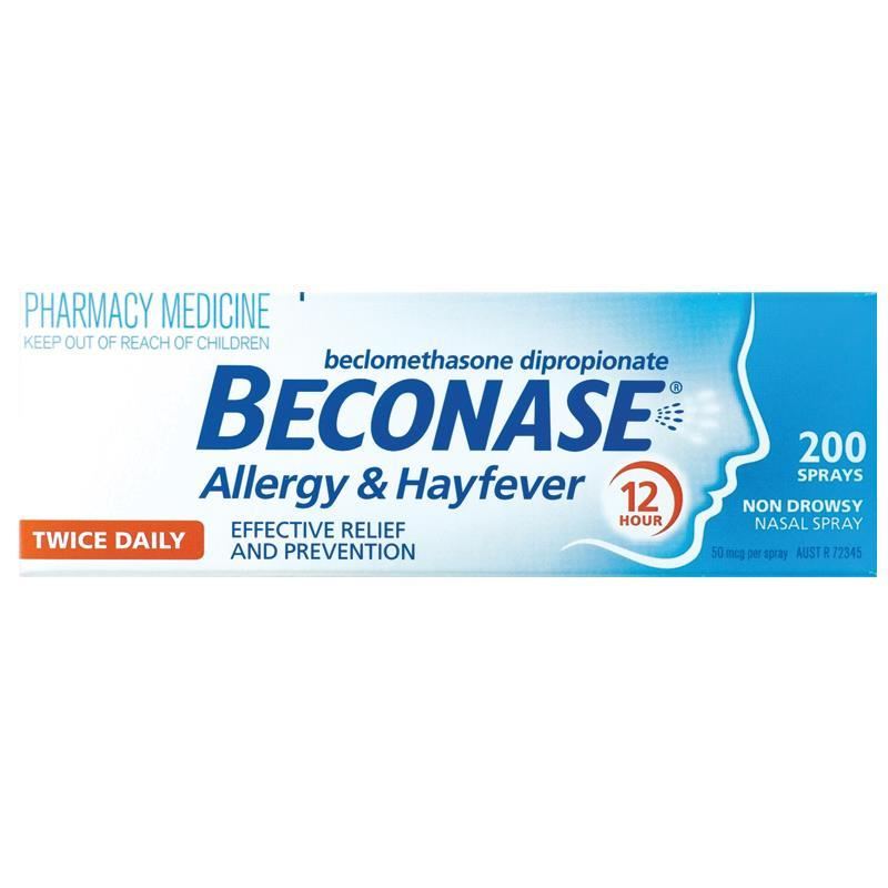 Beconase Nasal Spray 200 Doses - Vital Pharmacy Supplies