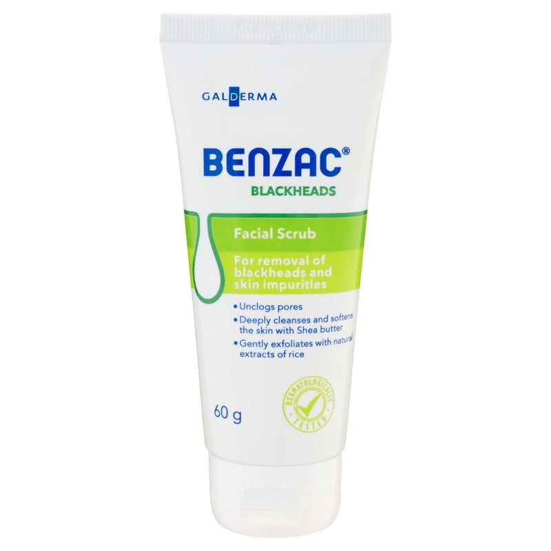 Benzac Blackheads Scrub 60g - Vital Pharmacy Supplies