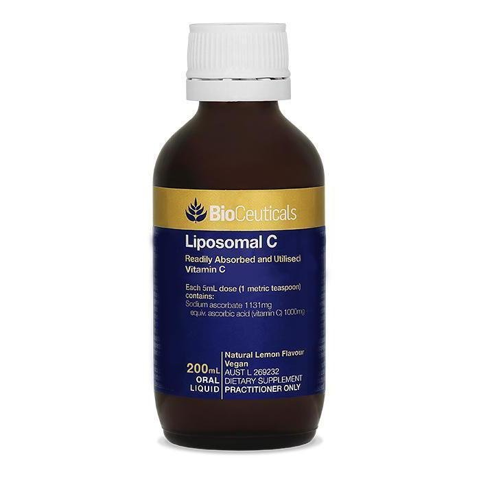 BioCeuticals Liposomal C 200mL - Vital Pharmacy Supplies