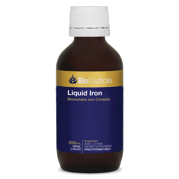 BioCeuticals Liquid Iron 200mL - Vital Pharmacy Supplies