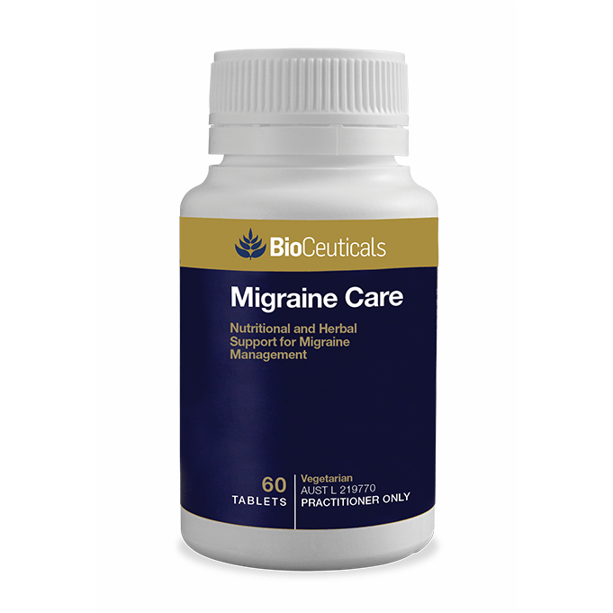 BioCeuticals Migraine Care 60 Tablets - Vital Pharmacy Supplies