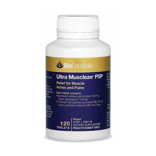 BioCeuticals Ultra Muscleze P5P 120 Tablets