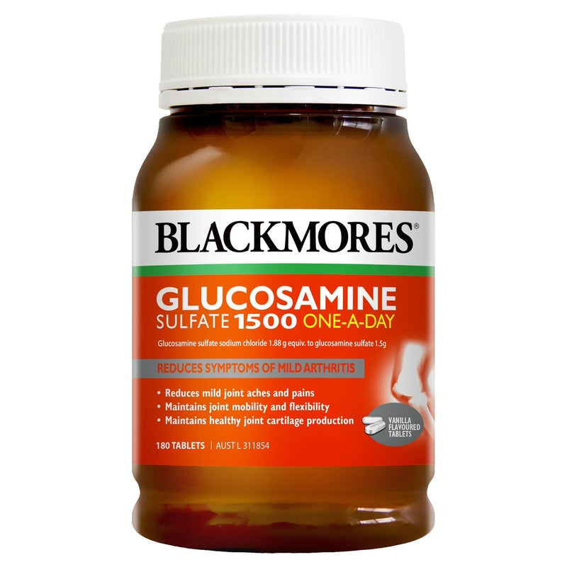 Blackmores Glucosamine Sulfate 1500 One-A-Day 180 Tablets - Vital Pharmacy Supplies