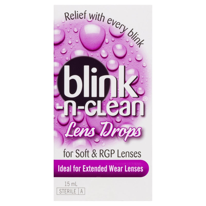 Blink-N-Clean Lens Drops 15mL - Vital Pharmacy Supplies