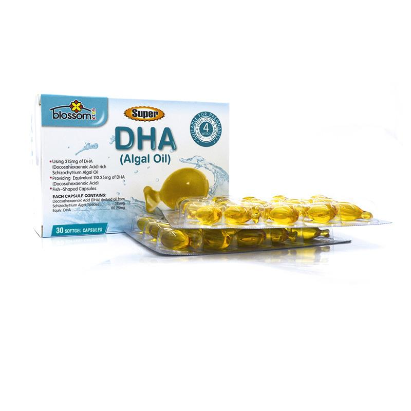 Blossom Health Super DHA (Algal Oil) for Kids 30 Capsules - Vital Pharmacy Supplies