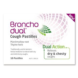 Bronchodual Cough Pastilles 10 Pack - Vital Pharmacy Supplies