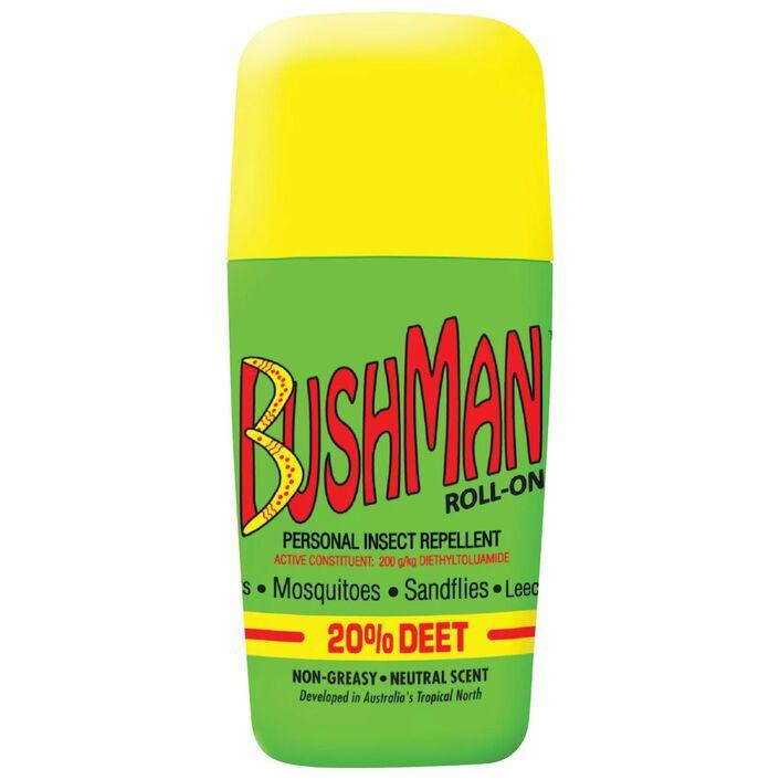 Bushman Roll-On 65g - Vital Pharmacy Supplies