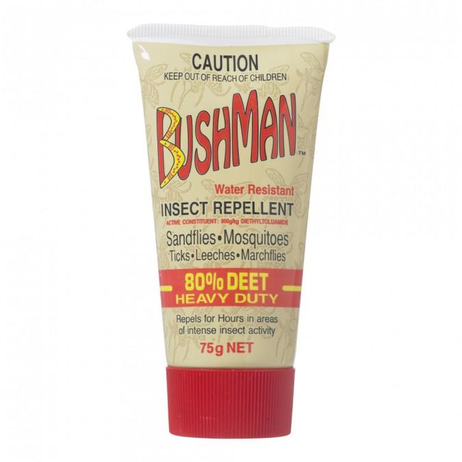 Bushman Ultra Dry Gel 75g - Vital Pharmacy Supplies