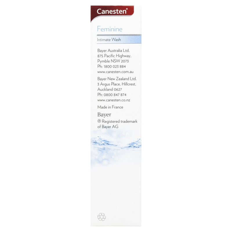 Canesten Feminine Intimate Wash 200mL - Vital Pharmacy Supplies