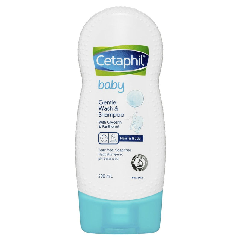 Cetaphil Baby Gentle Wash and Shampoo 230mL - Vital Pharmacy Supplies