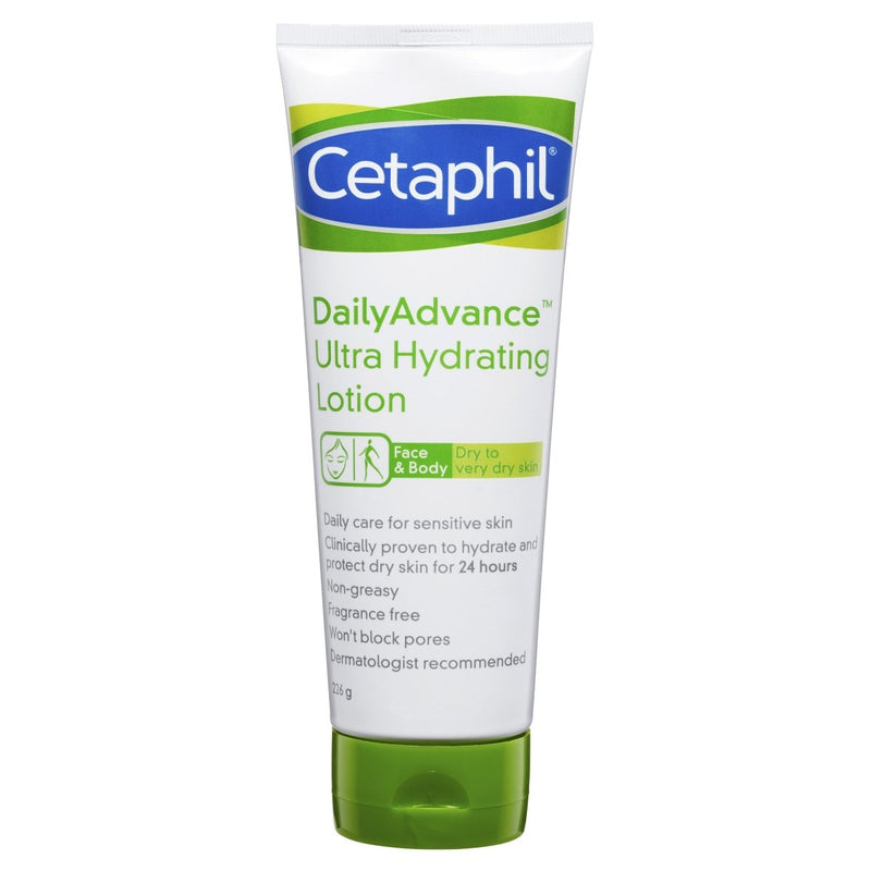 Cetaphil Daily Advance Ultra Hydrating Lotion 226g - Vital Pharmacy Supplies