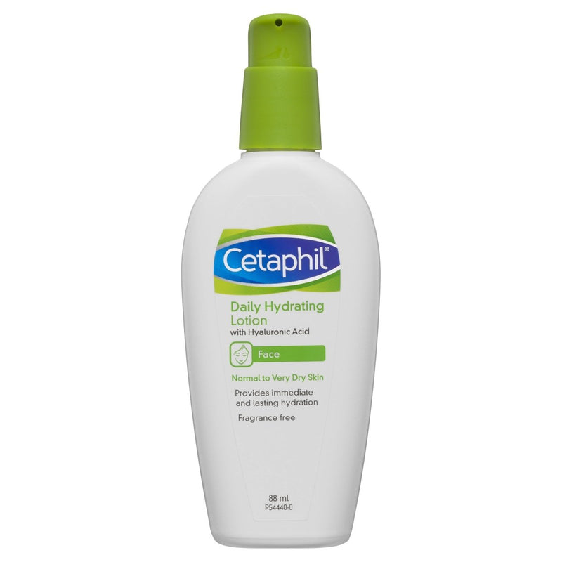Cetaphil Daily Hydrating Lotion With Hyaluronic Acid 88mL - Vital Pharmacy Supplies