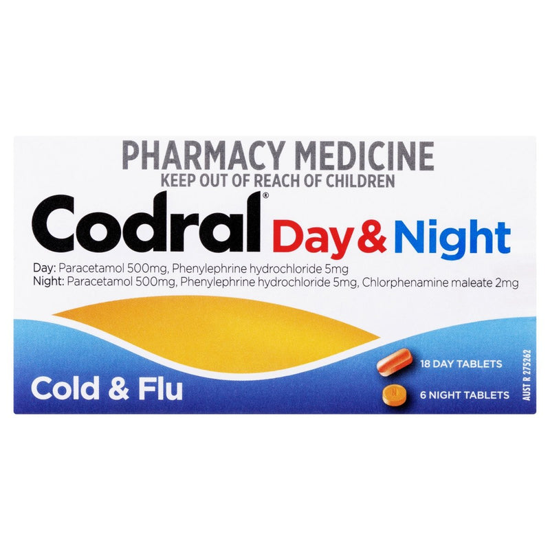 CODRAL Day & Night 24 Tablets - Vital Pharmacy Supplies