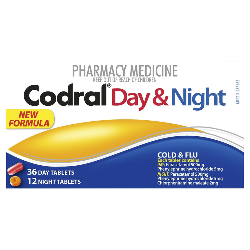 CODRAL Day & Night 48 Tablets - Vital Pharmacy Supplies