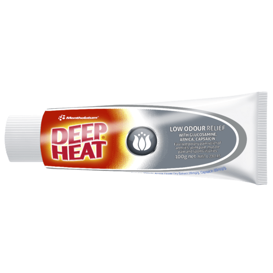 Deep Heat Low Odour Relief 100g - Vital Pharmacy Supplies
