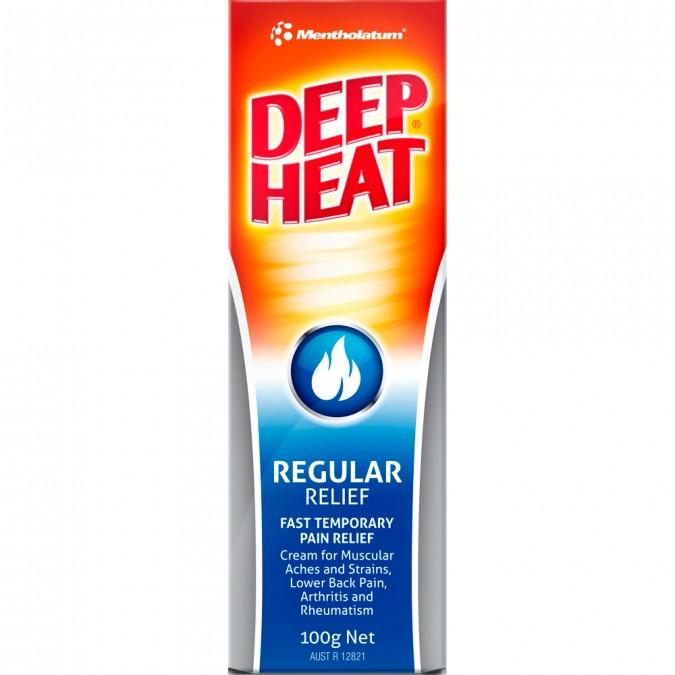 Deep Heat Regular Relief 100g - Vital Pharmacy Supplies