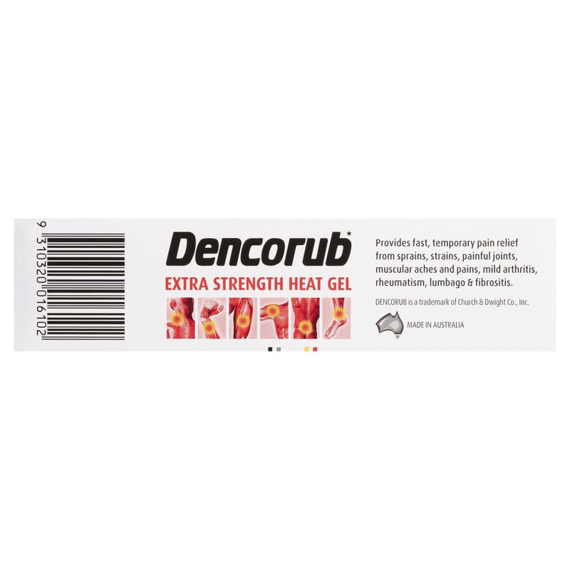 Dencorub Extra Strength Heat Gel 100g - Vital Pharmacy Supplies