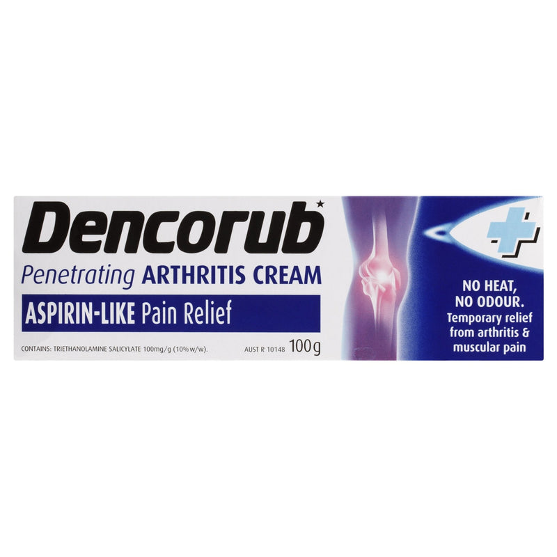 Dencorub Penetrating Arthritis Cream 100g - Vital Pharmacy Supplies