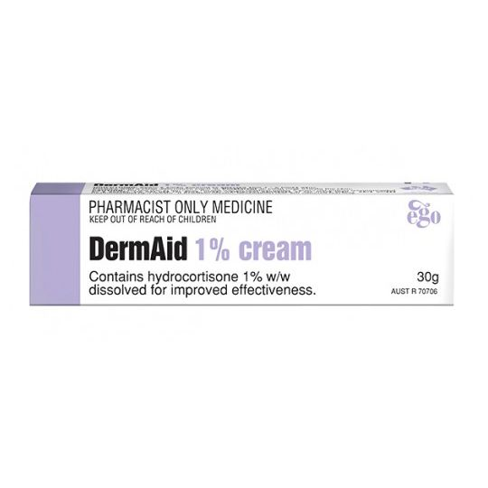 DermAid 1% Cream 30g (S3) - Vital Pharmacy Supplies