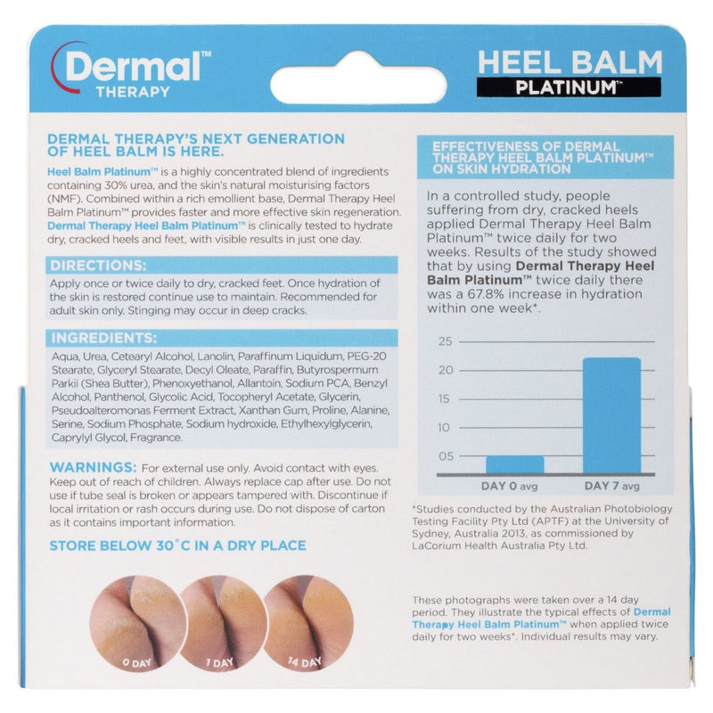 Dermal Therapy Heel Balm Platinum 75g - Vital Pharmacy Supplies