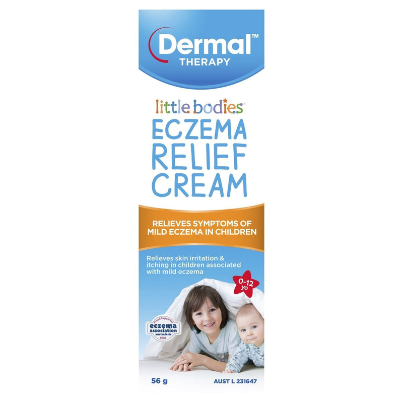 Dermal Therapy Little Bodies Eczema Relief Cream 56g - Vital Pharmacy Supplies