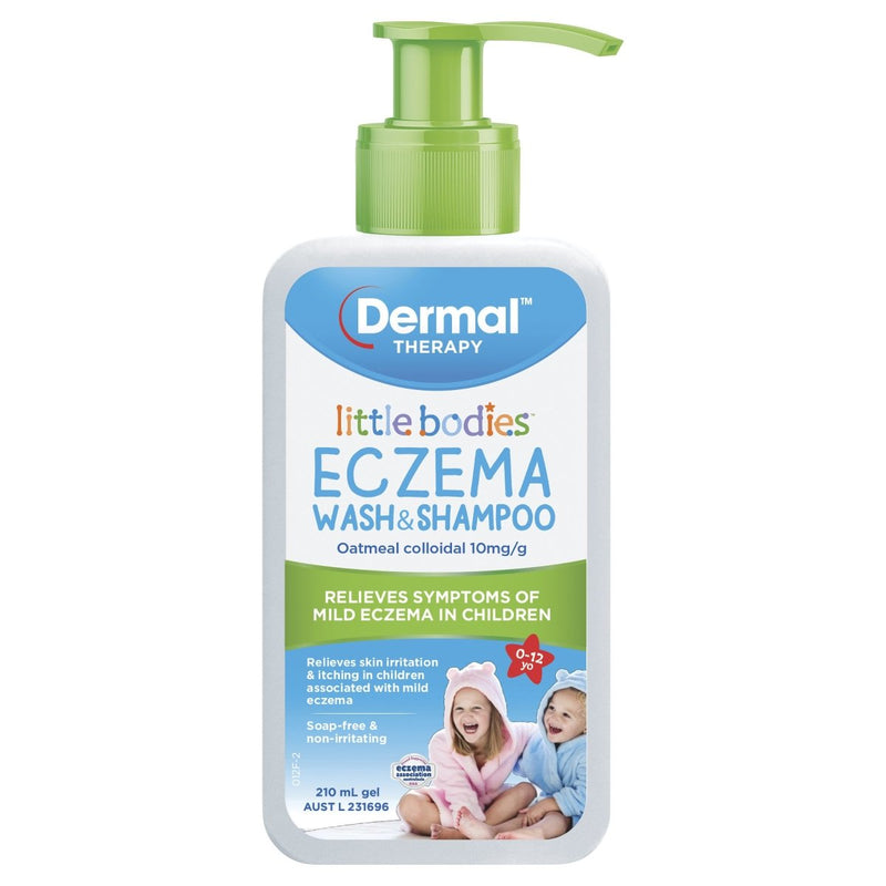 Dermal Therapy Little Bodies Eczema Wash & Shampoo 210mL - Vital Pharmacy Supplies