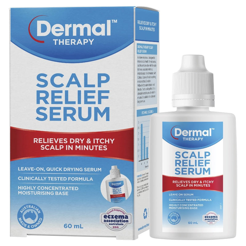 Dermal Therapy Scalp Relief Serum 60mL - Vital Pharmacy Supplies