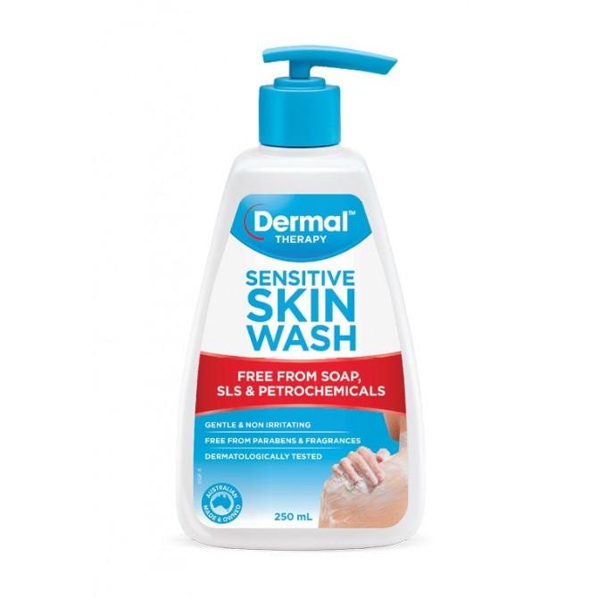 Dermal Therapy Sensitive Skin Wash 250mL - Vital Pharmacy Supplies