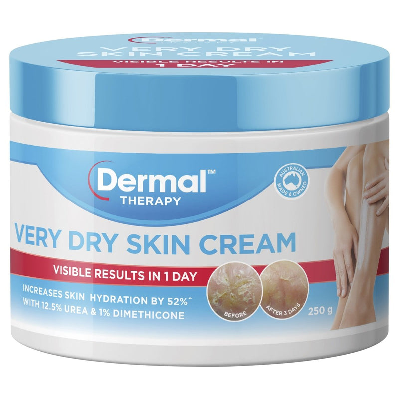 Dermal Therapy Very Dry Skin Cream 250g - Vital Pharmacy Supplies