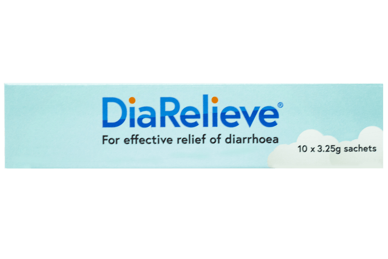 DiaRelieve 10 Sachets - Vital Pharmacy Supplies