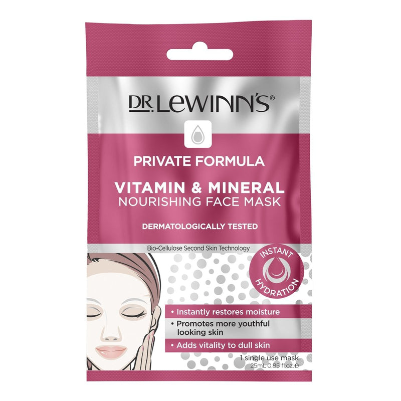 Dr. LeWinn's Private Formula Vitamin & Mineral Nourishing Face Mask 1 Pack - Vital Pharmacy Supplies