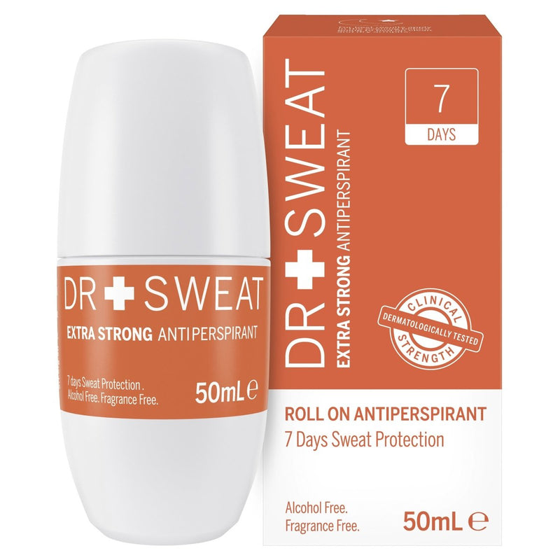 Dr Sweat Antiperspirant Roll On 7 days 50mL - Vital Pharmacy Supplies