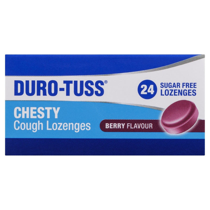 DURO-TUSS Chesty Cough Berry 24 Lozenges - Vital Pharmacy Supplies
