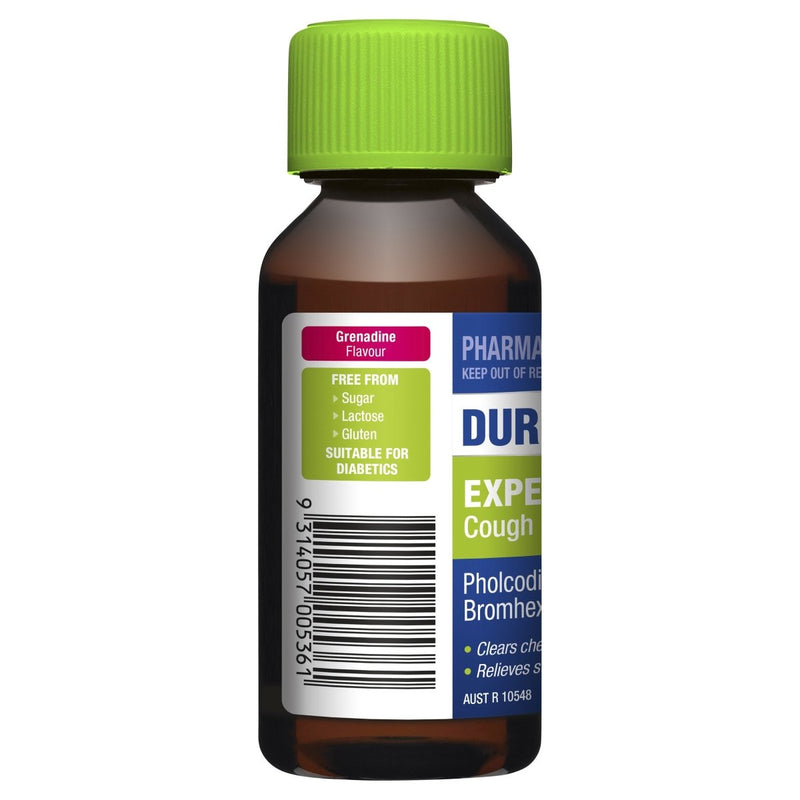 DURO-TUSS Expectorant Cough Liquid 100mL - Vital Pharmacy Supplies