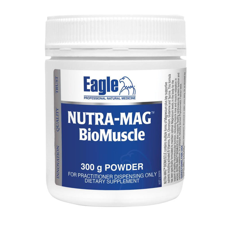 Eagle Nutra-Mag BioMuscle Powder 300g - Vital Pharmacy Supplies