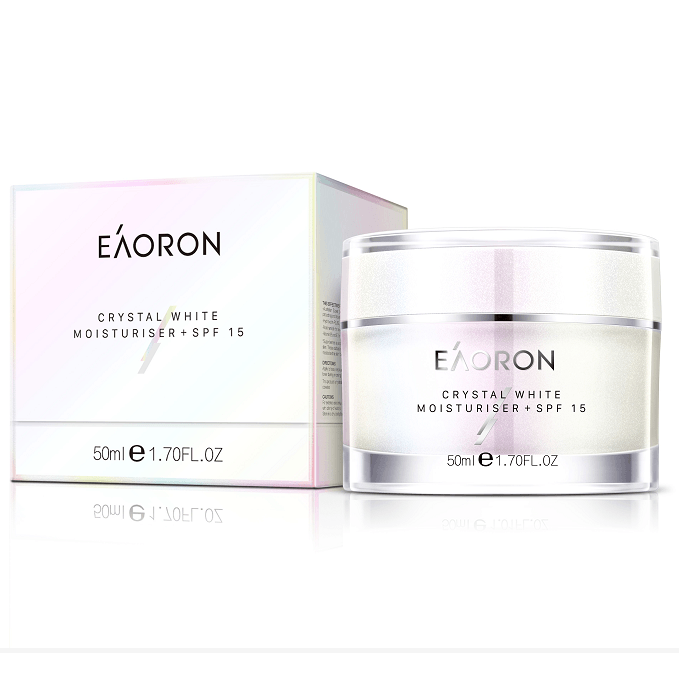 Eaoron Crystal White Moisturiser +SPF15 50mL - Vital Pharmacy Supplies